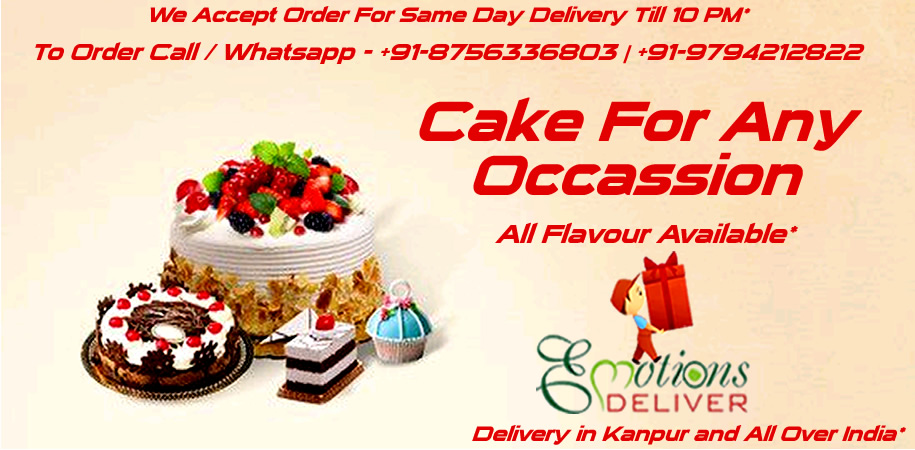Cake for Every Occassion - Delivery in Kanpur and Over India