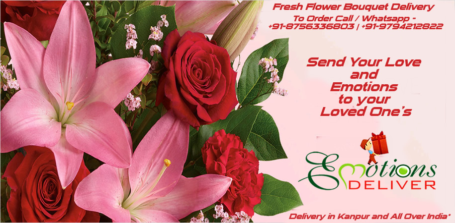 Fresh Flower Bouquet Delivery in Kanpur and All Over India