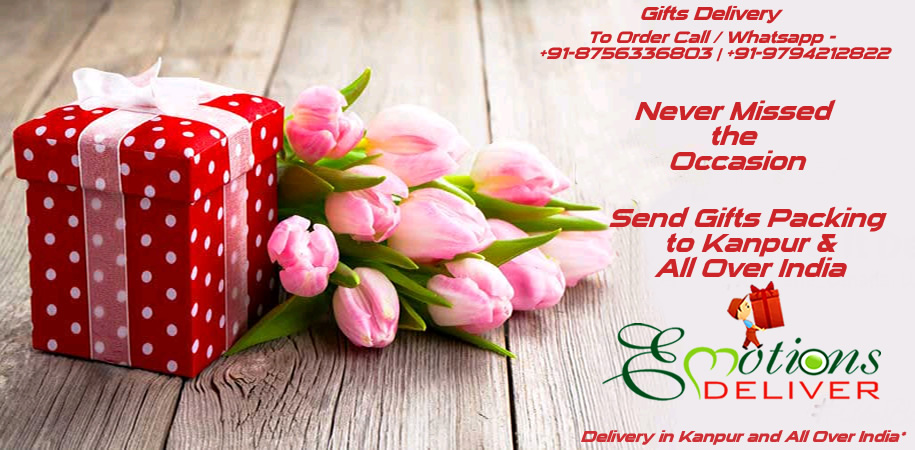 Never Missed the Occassion - Send Gift Packing to Kanpur and All Over India